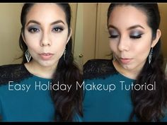 Easy Holiday Makeup Tutorial!