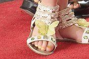 Dannielynn Birkhead Flat Sandals just adorable!