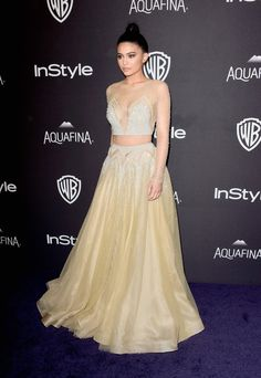 Kylie Jenner Photos - 2016 InStyle And Warner Bros. 73rd Annual Golden Globe Awards Post-Party - Arrivals - Zimbio