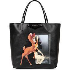 GIVENCHY Antigona medium Bambi-print leather shopper (Multi