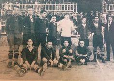 FCB temp 1922-23 Samitier, Carulla, Gularons, Viñals, Zamora, Cella, Mallorquí, Piera, Planas, Sagi, Blanco