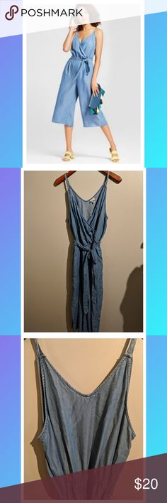 🌈NWT A New Day Chambray Jumpsuit NWT  A New Day Chambray Jump suit Size large a new day Other