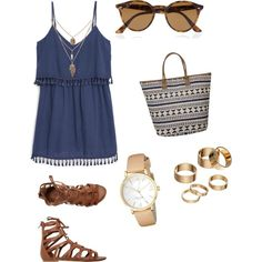 Untitled #4 by sylviasaz-saz on Polyvore featuring polyvore, fashion, style, MANGO, O'Neill, Kate Spade, Apt. 9 and Ray-Ban