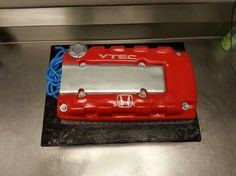 Honda civic vtec engine cake
