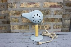So cute!!    BEAUTIAIRE blue electric hairdryer with stand by carouselandfolk, $40.00