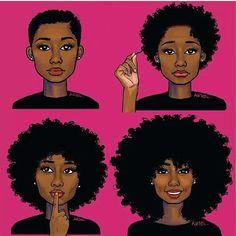 Du big chop au cheveux longs: Comment optimiser la pousse des cheveux Afros en quelques gestes simples | Thegirlzlifemagazine