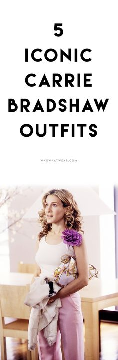 5 iconic Carrie Bradshaw outfits