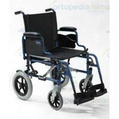 Silla ACTION 1 NG. La nueva ACTION 1 NG de invacare es el último miembro de la familia Action. Es una silla de acero ligero y de alta calidad.Los soporte de horquilla montados hacia el exterior , usuales en la sillas de gama Action, proporciona mayor estabilidad.