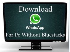 Simple method to use whatsapp on windows PC with different number. Download Whatsapp for pc now.