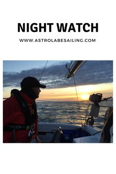 Sailing at night. It can be spooky and amazing #sailing #sailingatnight #nightsailing #cruising
