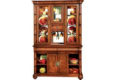 Shop for a Cindy Crawford Home Key West Dark 2 Pc China Cabinet at Rooms To Go. Find China Cabinets that will look great in your home and complement the rest of your furniture.