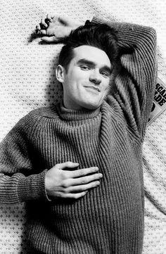 Morrissey ― photo by Tom Sheehan (1984). Via https://www.theguardian.com/artanddesign/2016/aug/03/tom-sheehan-photography-morrissey-oscar-wilde?CMP=twt_a-culture_b-gdnculture