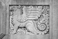 Art Deco architectural detail | ARCHITECTURE: Art Deco / Building detail, Boston, MA