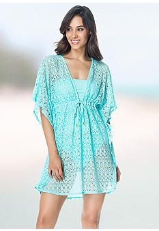 It's almost bathing suit season! Find this cute cover-up at Belk.