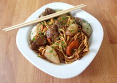 Wok, Japchae, Chili, Food And Drink, Beef, Ethnic Recipes, Meat, Recipes