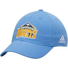 online retailer 9026c b7330 Denver Nuggets adidas Basics Slouch Adjustable Hat - Light Blue