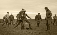 Letter from trenches shows football match through soldier's eyes-The Independent