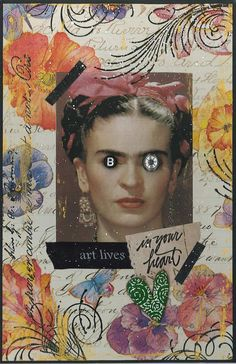 Heather Crossley - ART LIVES IN YOUR HEART - Postcard Series
