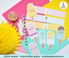 helados verano kit de fiesta gratis