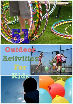 51 Outdoor Activities You can do with Your Kids | Days of a Domestic Dad