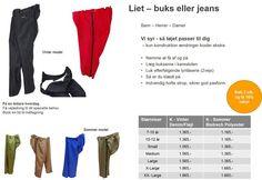Bukser og Jeans - tøj til handicap og kørestol