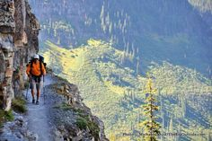 #2 Logan Pass to Many Glacier, Glacier National Park  Take one of the prettiest…