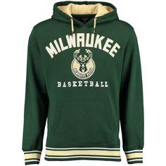 Milwaukee Bucks UNK MVP 2.0 Pullover Fleece Hoodie - Hunter Green