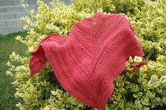 Ravelry: yolau65's lala's simple shawl