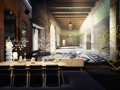 moooi Heracleum II Chandelier by Bertjan Pot - Chaplins Natural Structures, Led Lamp, Modern Design, Chandelier, Table, Inspiration, Furniture, Pendant, Home Decor