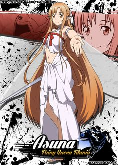 This was a commission for Xandimus - Asuna is from Sword Art Online Asuna is the deuteragonist of the Aincrad Arc in theSw. Arte Online, Buy Art Online, Anime Character Names, Anime Characters, Asuna Sao, Sword Art Online Wallpaper, Sword Art Online Kirito, Accel World, Estilo Anime