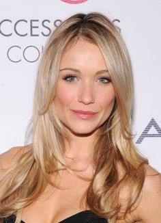 Katrina Bowden - long, blonde layers. Dream hair. Going to cut my hair like this when I get home