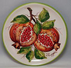 Traditional Sicilian Decorative Plate by APutiaduRe on Etsy