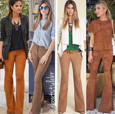 Calça foste suede caramelo Fashion Days, Office Fashion, Womens Fashion, Winter Looks, Fall Looks, Fall Outfits, Casual Outfits, Just My Size, Winter Mode