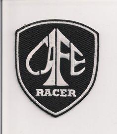 Cafe Racer shield patch, 3 inch. 59 Club. Triumph. Rocker. Ace.BSA Norton