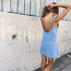 Perfect denim summer dress
