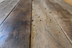 Original French Oak Boards - Studio floor- possible additional layer of flooring in some of the set areas.