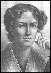 Frances Wright (1795-1852): published the Free Enquirer and advocated socialism, abolition of slavery, univeresal suffrage, secular education, birth control, changes in marriage & divorce laws.