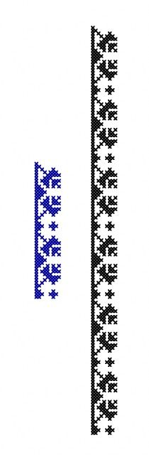 MP660 Cross Stitch Bookmarks, Cross Stitch Borders, Le Point, Embroidery Stitches, Punto De Cruz, Dots, Needlepoint, Cross Stitch, Fimo