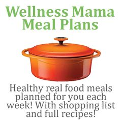 Pin now, go through later- weekly meal plans~ This is a pretty awesome website! There's a lot of interesting info on here about effects on our bodies from eating certain things