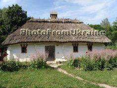 An ancient Ukrainian village house. Digital by PhotoFromUkraine