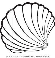 Shell Clipart Illustration