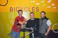 Jim Serger  : Bike Shops---small business delivering HUGE custom...