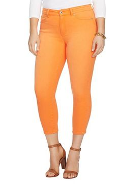 Lauren Ralph Lauren Lauren Ralph Lauren Stretch Crop Skinny Jeans available at #Nordstrom