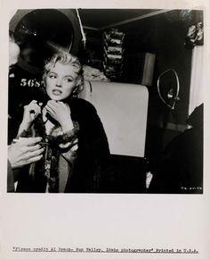 On a set - Marilyn Monroe