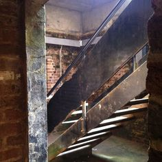 Stairs in House of Detention Clerkenwell Design Week