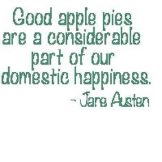 Jane Austen Quotes | Embroidery: Apple Pie Jane Austen Quote