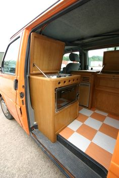 Campervan interior furniture for VW T2 bay window Van Interiors