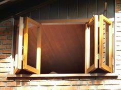 janela articulada pantográfica