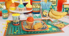 Despicable Me Party #food