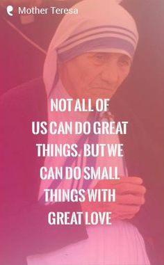 Inspirational words to live by Mother Teresa. Tap to see more inspirational & motivational quotes! - @mobile9